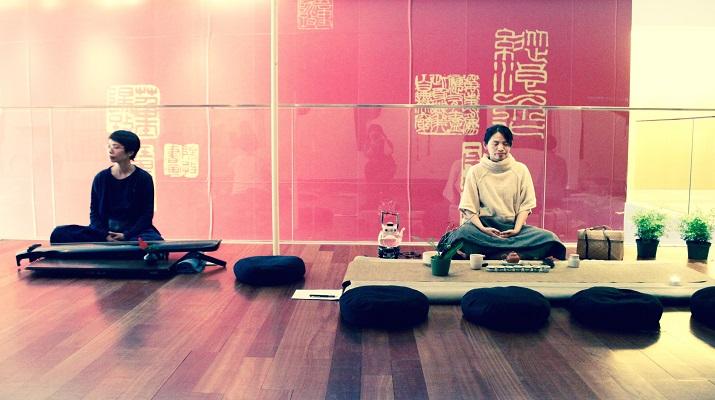 賓州斯克蘭頓大學台灣文化光點計畫  佛法與茶香慶中秋