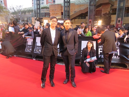 東京国際映画祭開幕、レッドカーペットに台湾の監督やスター登場