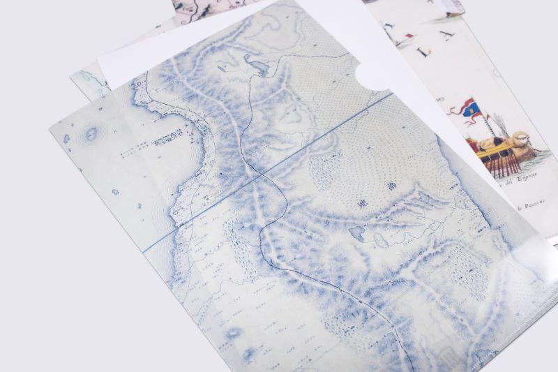 地圖L型夾4(1895年-實地踏查臺灣詳密地圖)