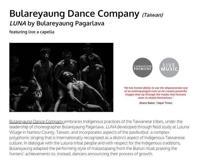 Paiwan dance company invited to Toronto indigenous festival