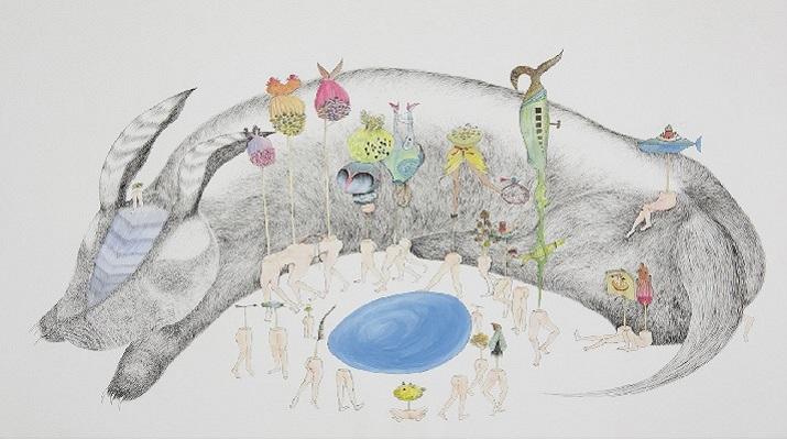 「她的凝視」臺灣當代女性藝術家作品再展魅力 5月3日起在紐約臺灣書院續展
