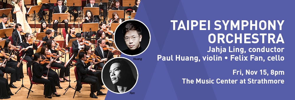 TSO to bring Taiwanese compositions, talents to DC, Atlanta