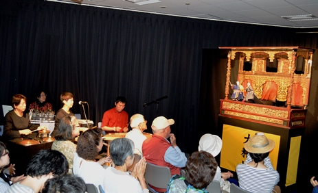 台湾ウィーク開催レポート:「台湾ウィーク」がスタート、台湾の人形劇や民謡のパフォーマンスを披露
