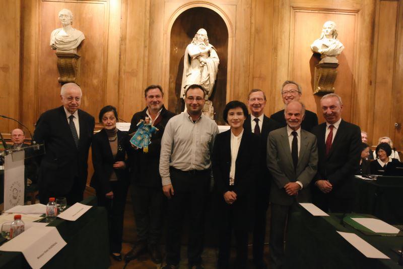 Remise du prix de la Fondation culturelle franco-taiwanaise
