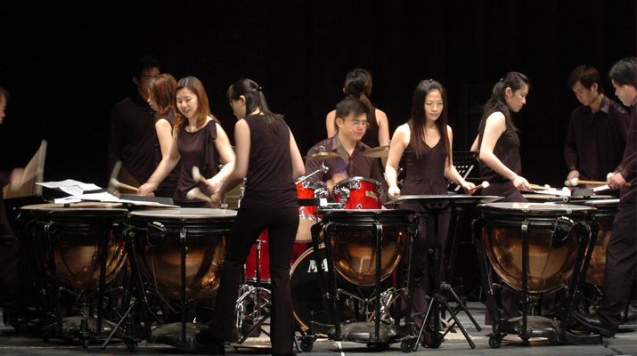 2009 PASIC PRESS RELEASE FROM JU PERCUSSION GROUP