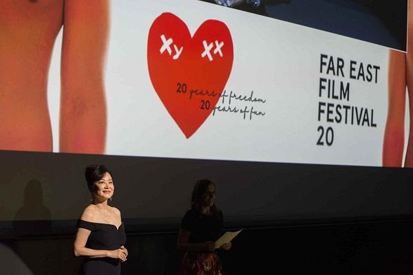 Brigitte Lin, prix de contribution de toute une vie au FEFF (Far East Film Festival)