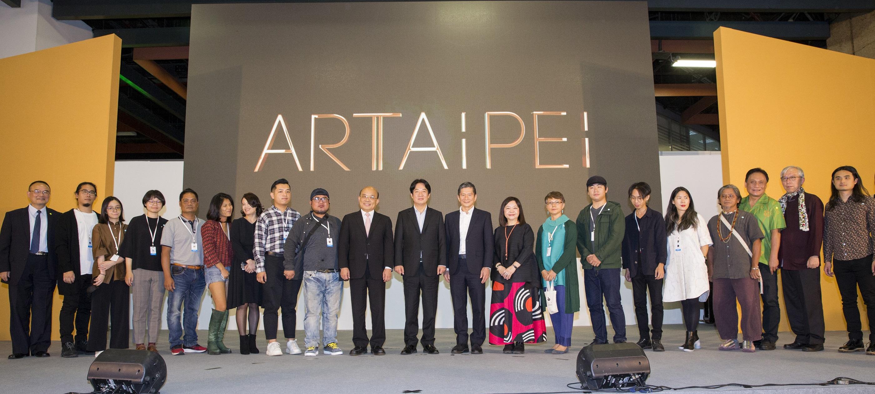 International art fair opens at Taipei World Trade Center