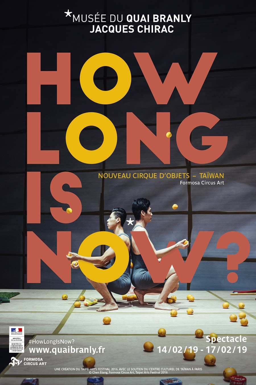 'How Long is now' au musée du quai Branly-Jacques Chirac