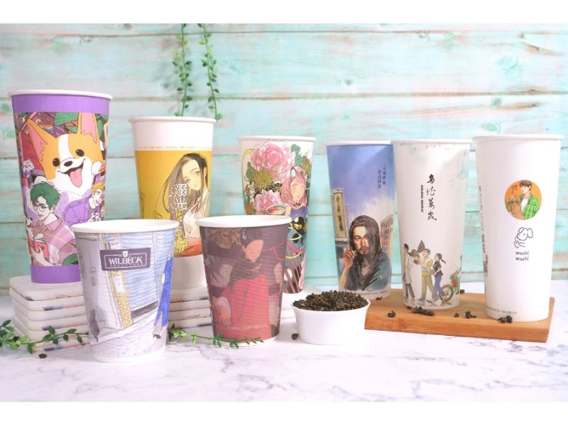 TAICCA collaborates with comic artists to launch comic-themed cups