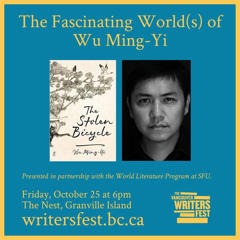 Novelist, translator share life stories at Vancouver Writers Fest