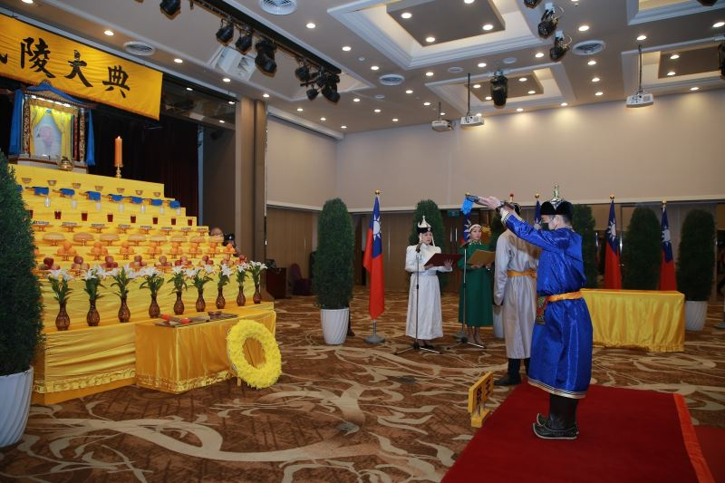 Minister of Culture Lee presides over Mongolian ceremony in tribute to Genghis Khan