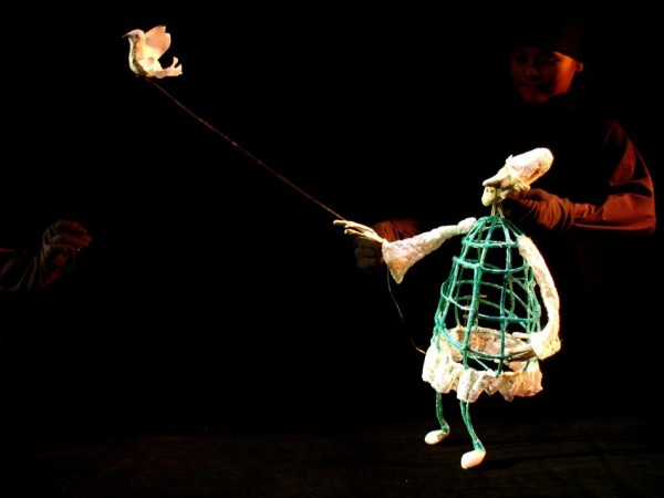 Taiwanese contemporary puppetry show in Berlin