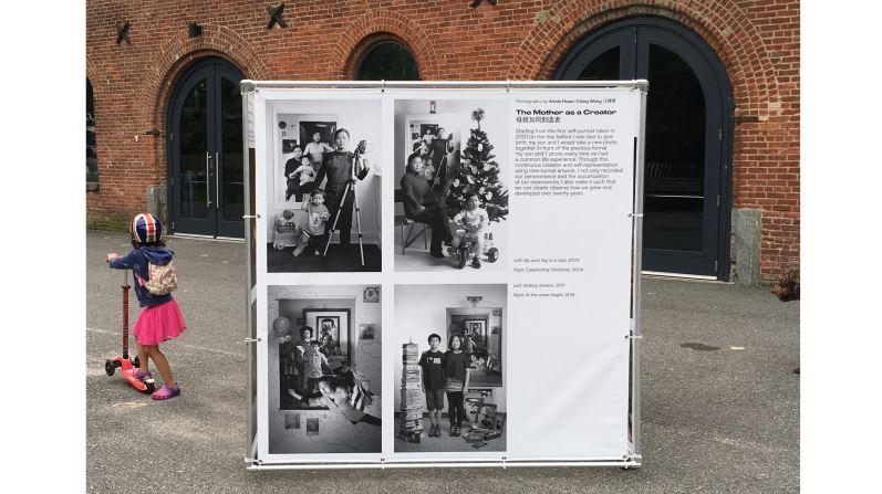 台灣藝術家汪曉青受邀紐約最大戶外攝影展展出 《母親如同創造者》翻轉母職角色受國際矚目