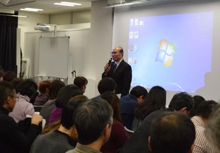 台湾文化センターで台湾文学翻訳家・天野健太郎氏を偲ぶ会