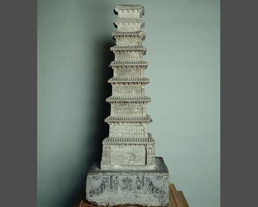 Nine-storied stone pagoda