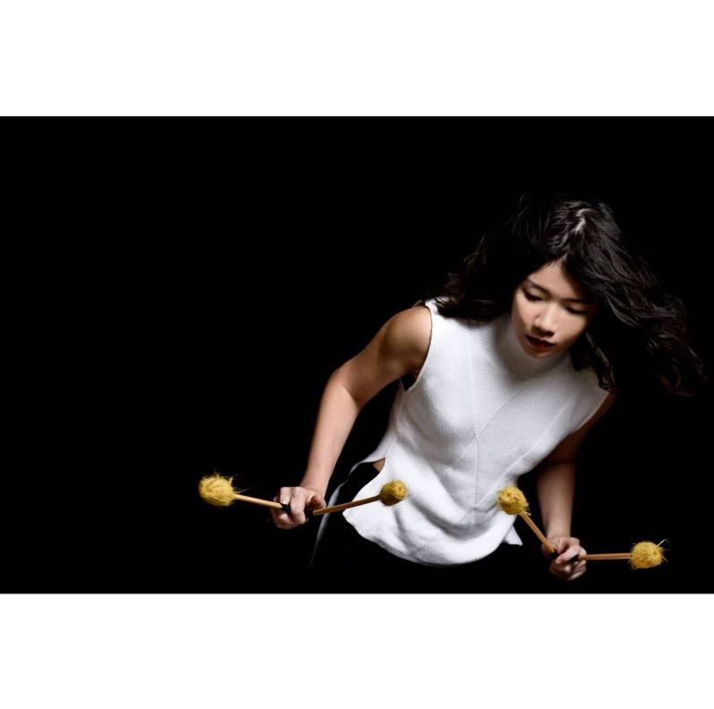 La percussionniste Yuhan Su à Cité internationale des arts