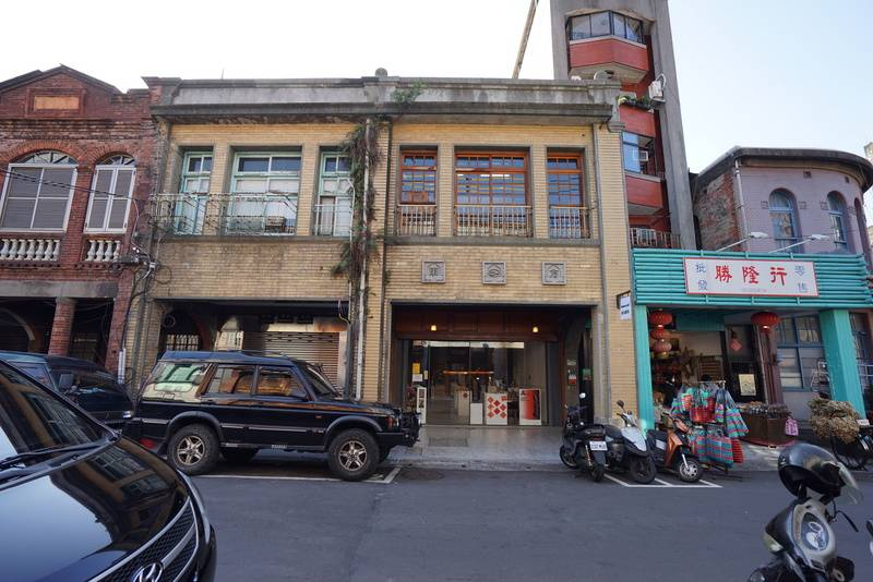 日本時代建設の町家、台北市の歴史建築に登録