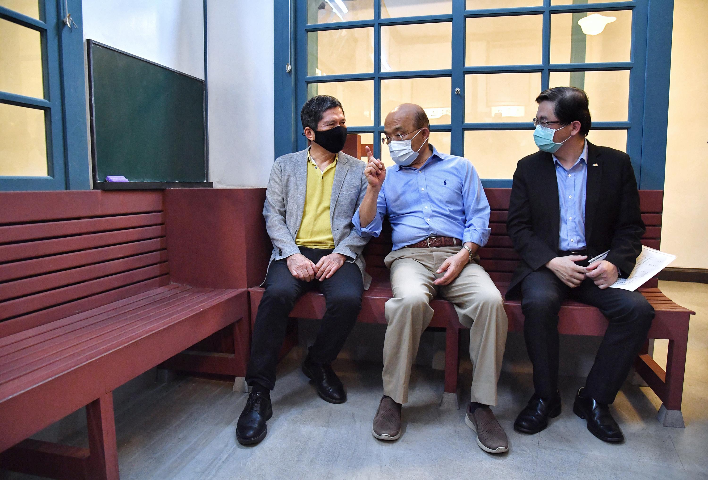 Premier visits NTM's newly renovated Railway Department Park