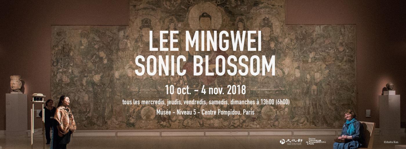 Lee Mingwei, 'Sonic Blossom' au Centre Pompidou
