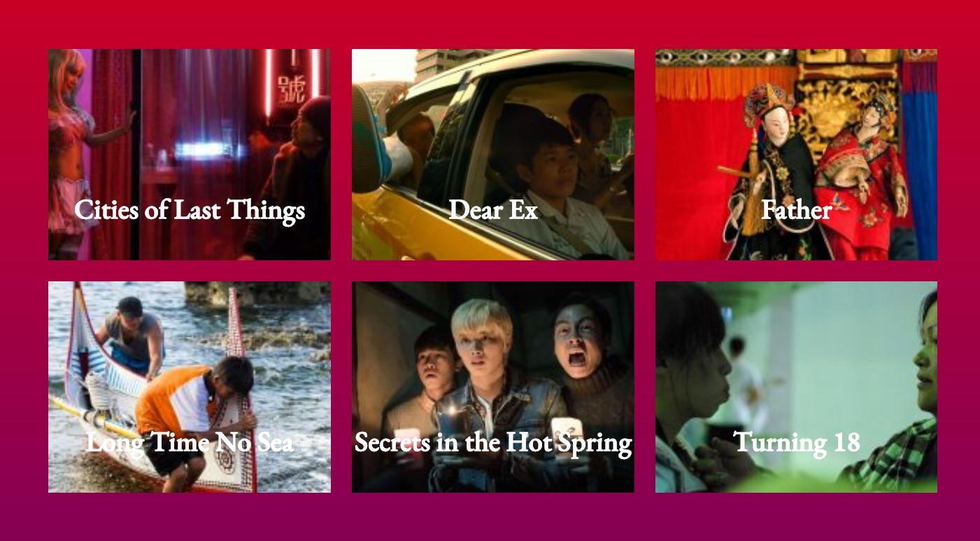 Amsterdam's CinemAsia Film Festival to spotlight six Taiwan films