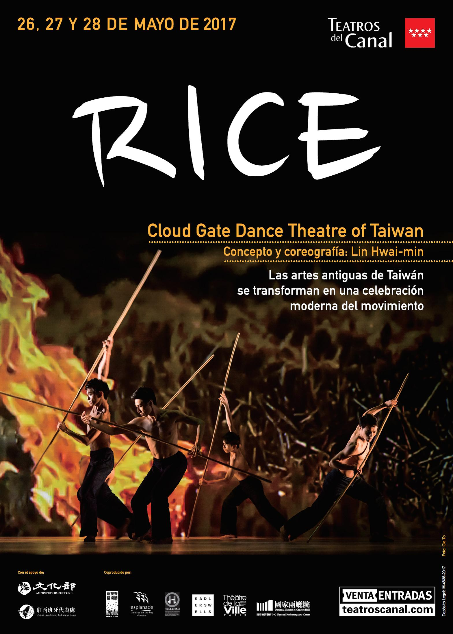 Teatros del Canal: Cloud Gate Dance Theatre de Taiwán