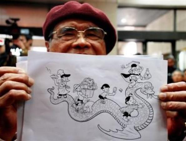 Comic Artist | Liu Hsing-chin