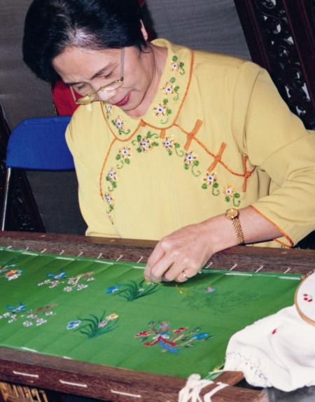 3D Embroidery Artist | Xu Chen Chun