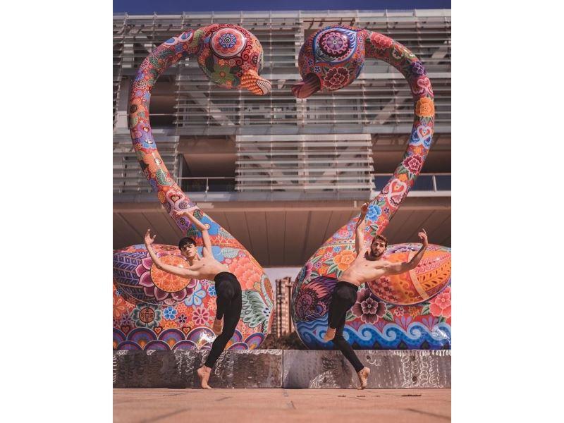 Artista taiwanés Hung Yi presenta 14 esculturas en exposición itinerante en España