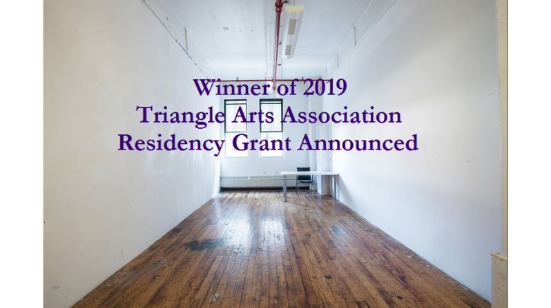 Taipei Cultural Center Announces Winner of 2019 Triangle Arts Association Residency Grant