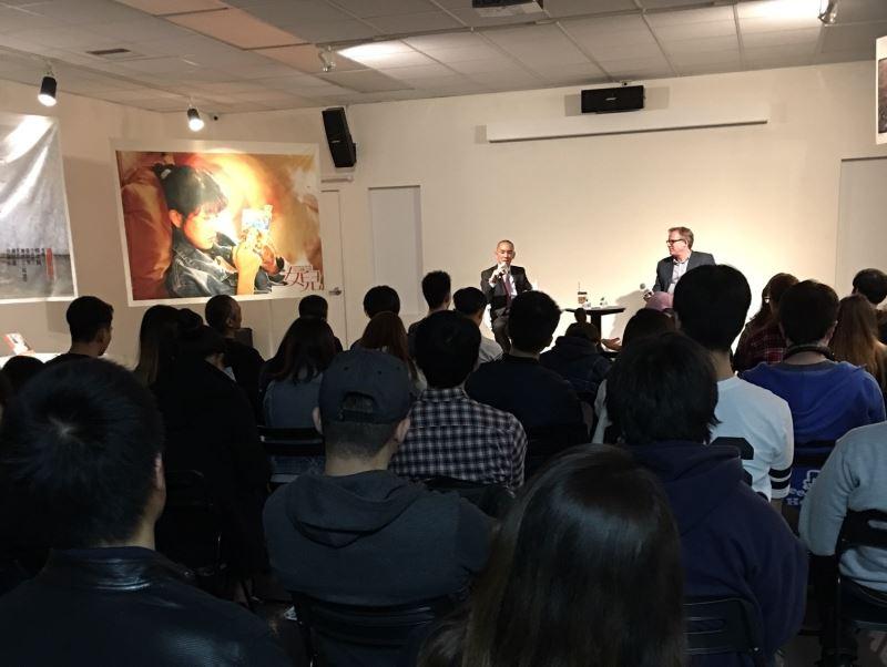 臺灣書院舉行雙年展策展人對談-全球電影文化中的台灣電影