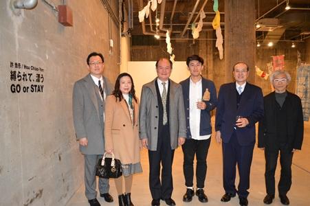 横浜BankARTで許喬彦さんの個展が4月22日まで開催中