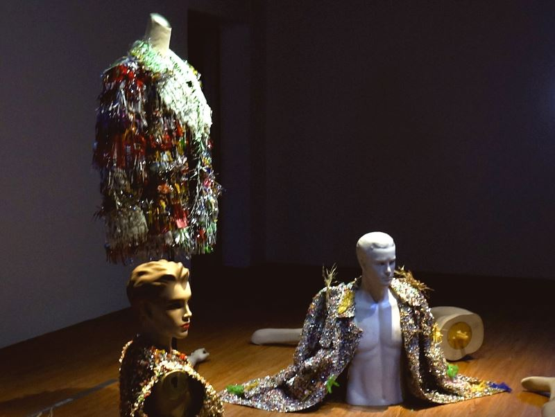 Earth Day Celebration: Recycled Art & Trashion by Taiwanese artist Chin-Chih Yang
