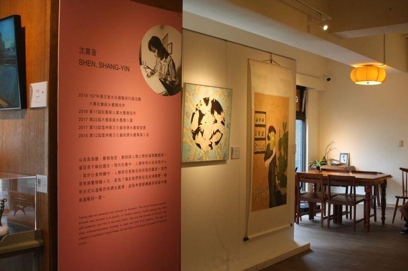 巡迴展第二站於新竹藤藝廊展出至10月12日