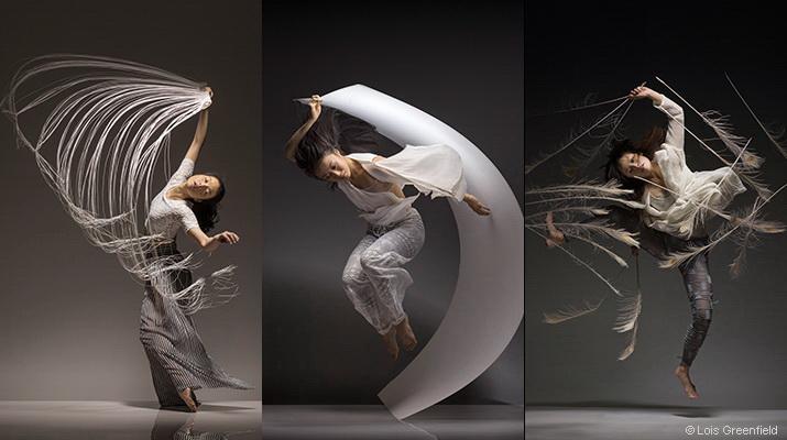 簡珮如, 林倢卉, 劉奕伶與Lois Greenfield分享  鏡頭前的舞蹈