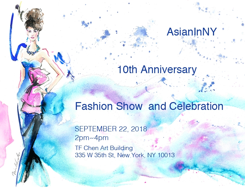 AsianInNY 10th Anniversary Fashion Show Feature Emerging Taiwanese Designer Pai Cheng Cheng and Joe Chan on Sep. 22