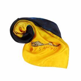 常玉豹絲巾