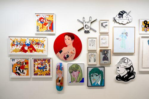 アニメや漫画の美を探る展覧会、台北で開催 台日など 5 カ国の芸術家が 出展