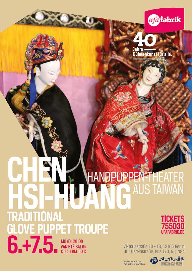 Le maître de la marionnette Chen Hsi-huang émerveille le public berlinois