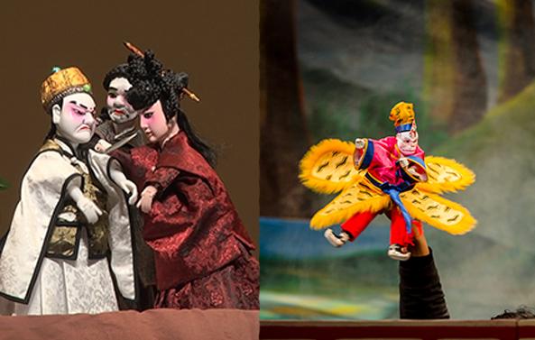 布袋戲(姜子牙下山、大鬧天宮)│106年民間戲曲人才駐團演訓育成大戲