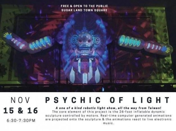 Taiwan Academy in Houston to present light show in Texas