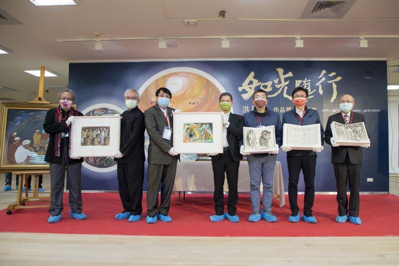Late Taiwanese artist Hung Rui-lin's works donated to NTMFA