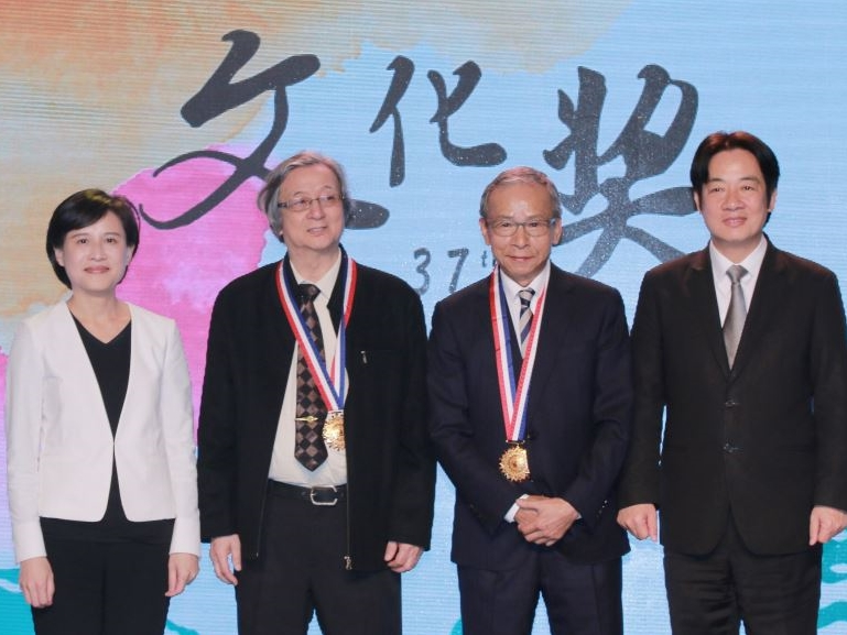 National Cultural Award honors Wu Nien-jen, Hsieh Li-fa