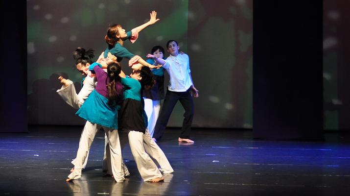 台灣舞蹈新秀  黃文人創種子舞團  紐約發表2011新作 「枝」