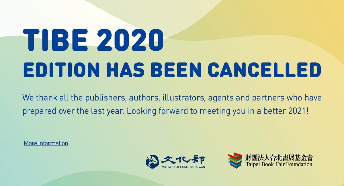 2020 Taipei book fair cancelled amid concerns over COVID-19
