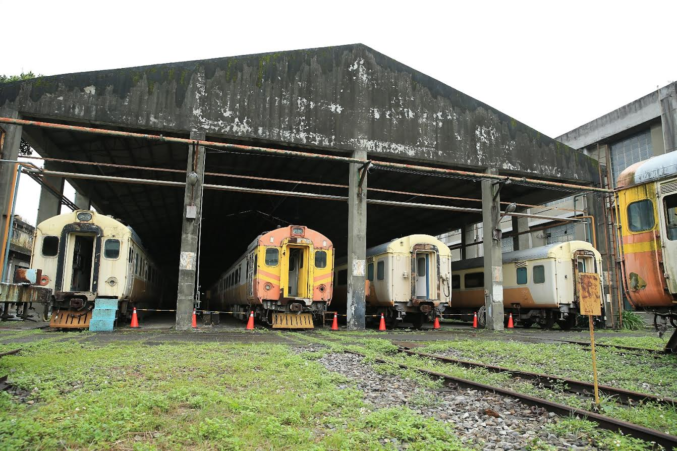 New stage of repairs kick off at Taiwan's first railway museum