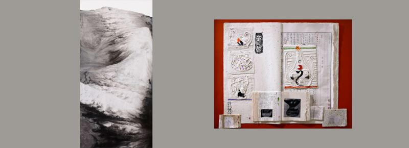 袁金塔水墨多媒材作品展與若岱現代水墨畫展3月7日同時於美國華盛頓藝術俱樂部(Arts Club of Washington)展出