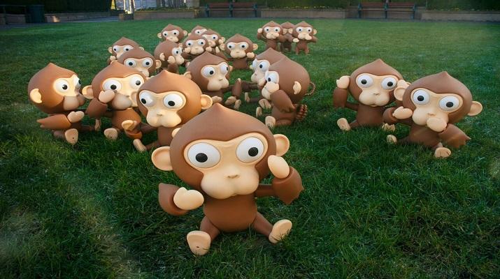 齊天大聖率領數百隻猴子歡鬧多倫多湖濱中心 歡慶農曆新春