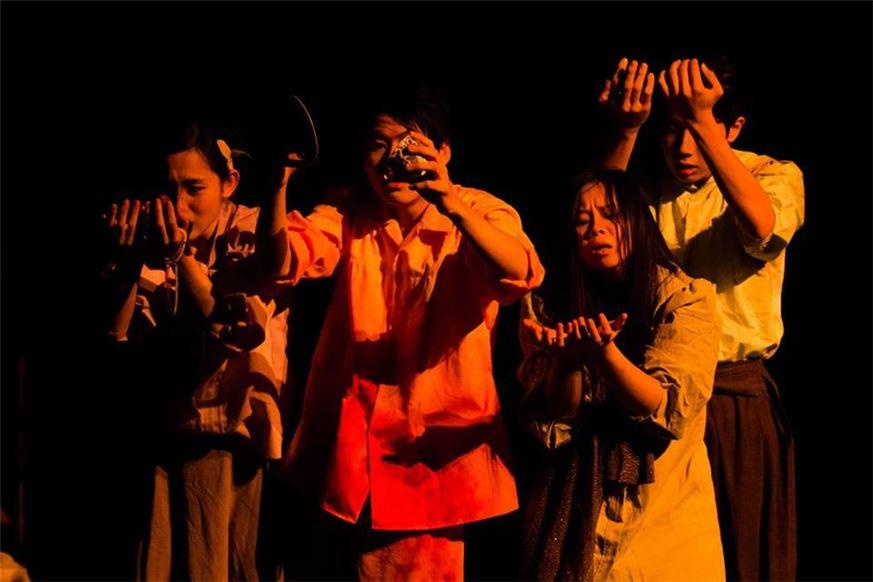 東京芸術祭《焦土》演出