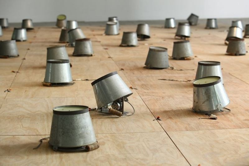 Taiwanese artist's kinetic installation featured in NY