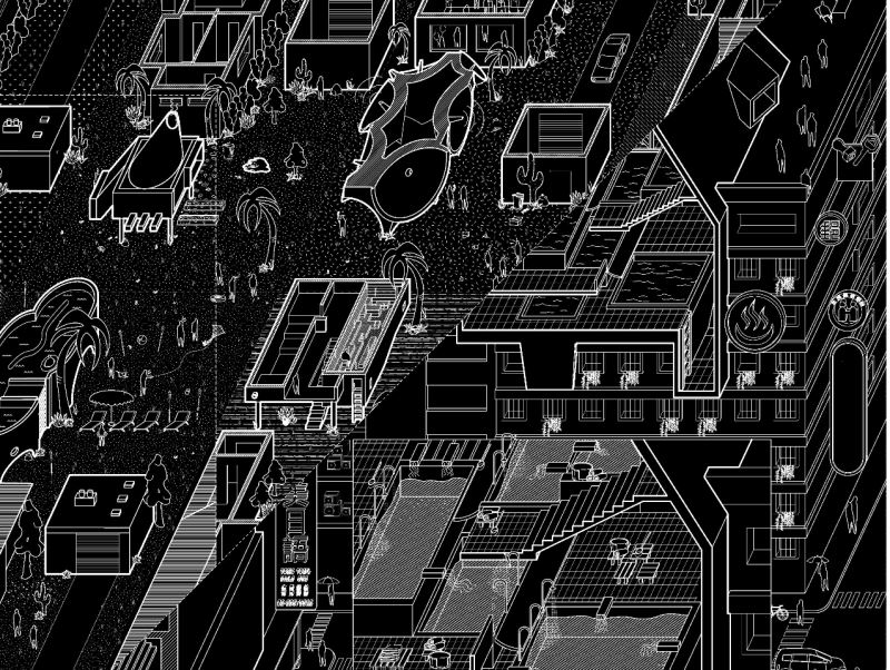 《雙城故事》臺美建築藝術展-探索洛杉磯與臺北另類空間